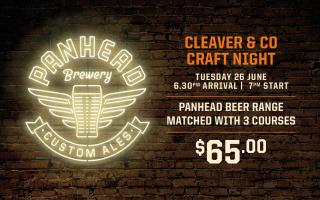 PANHEAD X CLEAVER & CO
